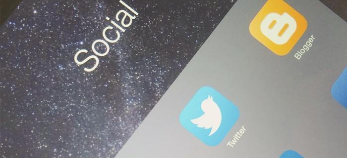 selecteren van de juiste-social media